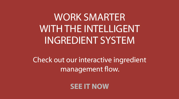 See the Interactive Ingredient Management Flow